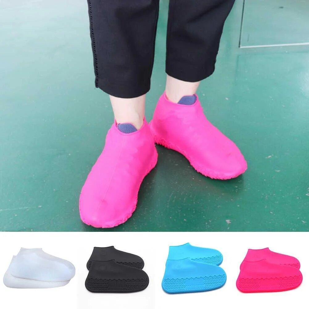 Многоразовые бахилы на обувь - защита обуви от дождя