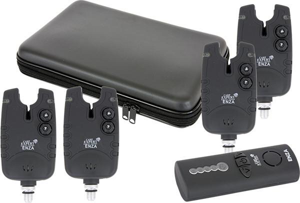 Набор радио сигнализаторов Carp Expert ENZA (4+1) 200 м