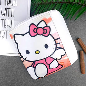 Сумка Moderika Mini Miss біла з малюнком Хеллоу Кітті (55029)