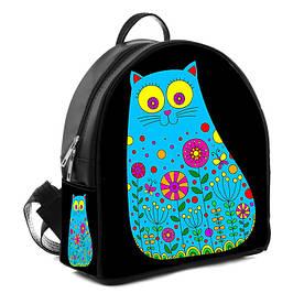 Рюкзак Moderika Arco черный с рисунком Кот (77707) 1252640130