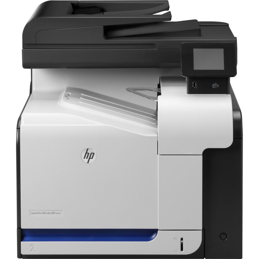 Многофункциональный лазерный устройство А4 цв. HP Color LJ Pro M570dn
