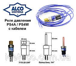 Реле низкого давления (0,4/1,4) с автоматическим сбросом PS4-A1 (808266) Alco Controls