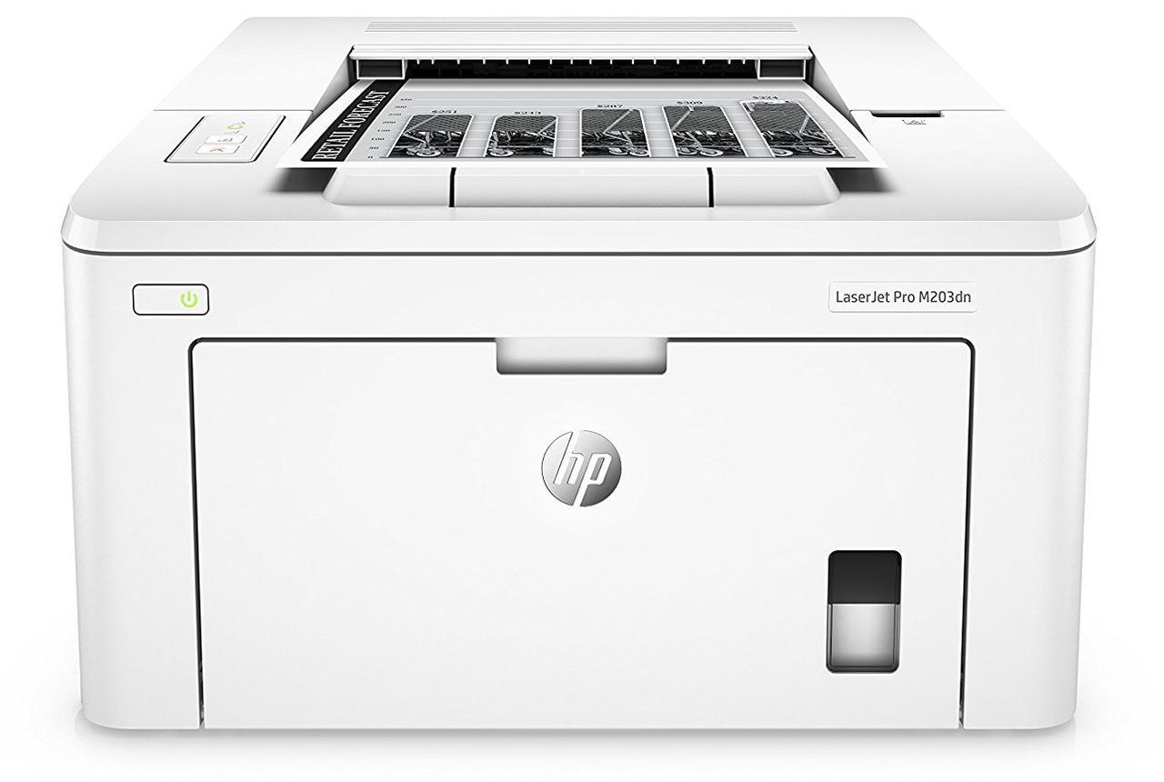 Принтер лазерний А4 ч/б HP LJ Pro M203dn