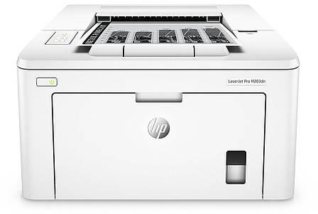 Принтер лазерний А4 ч/б HP LJ Pro M203dn, фото 2
