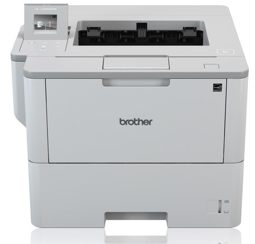 Принтер лазерный А4 ч/б Brother HL-L6400DW с WiFi