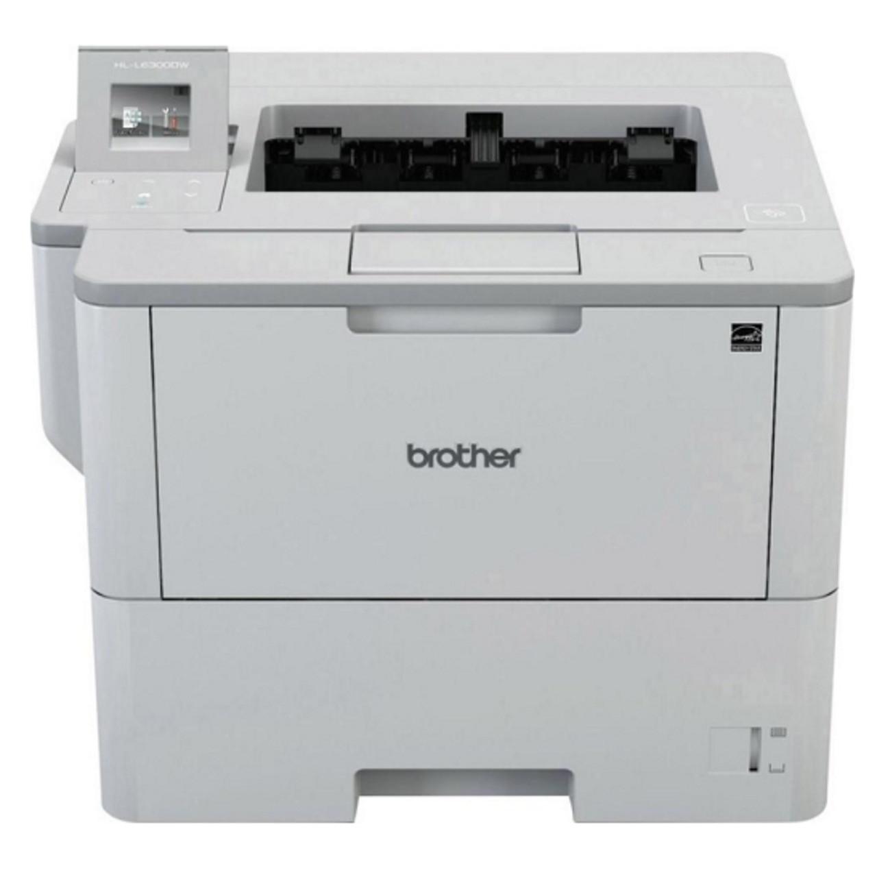 Принтер лазерный А4 ч/б Brother HL-L6300DWR с Wi-Fi