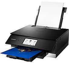 Многофункциональный струйный устройство А4 цв. Canon PIXMA TS8340 black с Wi-Fi, фото 3