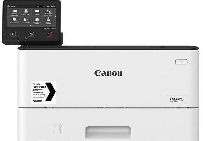 Принтер лазерний А4 ч/б Canon i-SENSYS LBP223dw з Wi-Fi