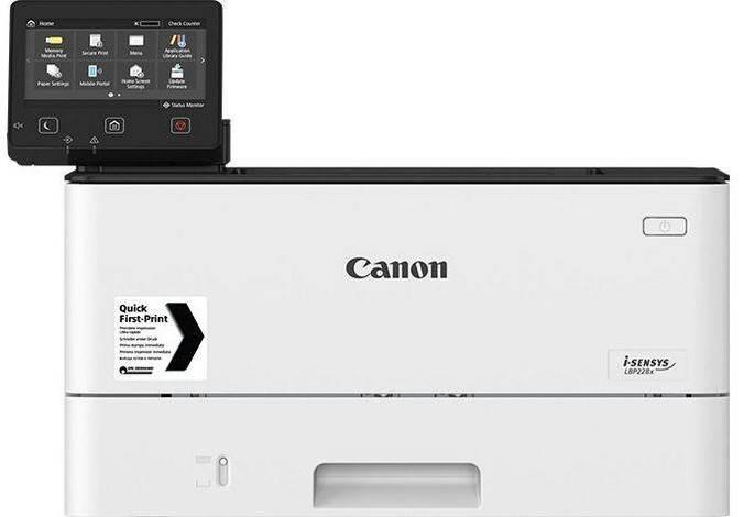 Принтер лазерний А4 ч/б Canon i-SENSYS LBP223dw з Wi-Fi, фото 2