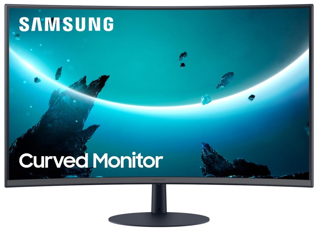 """Монитор LED LCD Samsung 27 """"C27T550FDI (LC27T550FDIXCI)"""