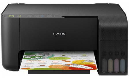 Багатофункціональний струменевий пристрій A4 кол. Epson L3150 з WI-FI, фото 2