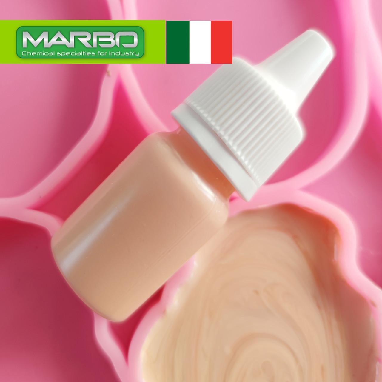 """Marbo (Італія) пігмент """"Персиковий""""для смол і поліуретанів, професійний. Марбо, 73.Серія PASTELLO"""