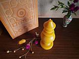 """Свеча восковая из натурального пчелиного воска """" фигурная"""" Zigrivay (15х5см) (10042), фото 3"""