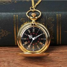 Кварцевые карманные часы на цепочке