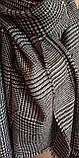 Стильний теплий шарф накидка палантин платок, фото 10