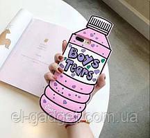 Чехол 3D на iPhone 6s plus Boys Tears розовый