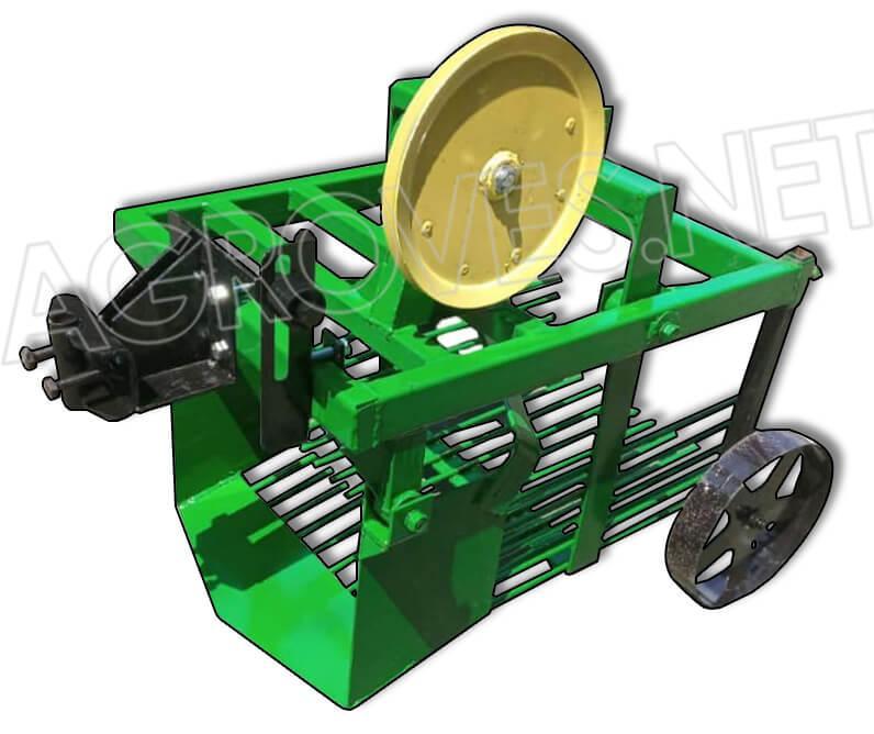 Картофелекопалка вибрационная однорядная КВМ-44