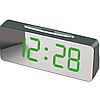 """Великі настільні годинники будильник VST-763Y Зелені Цифри (дзеркальний диспелей 7,8""""), фото 2"""