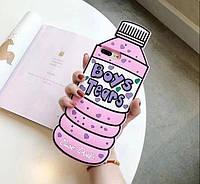 Чехол 3D на iPhone 7 plus Boys Tears розовый, фото 1