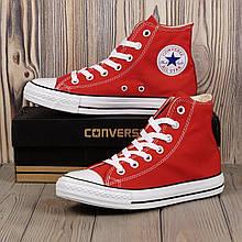 Кеды Converse All Star(Красные высокие)