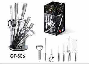 Набор профессиональных кухонных ножей German Family GF-S06