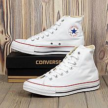 Белые высокие кеды Converse All Star