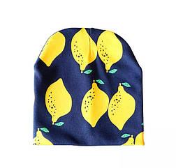 Весенняя шапка 579 Лимоны