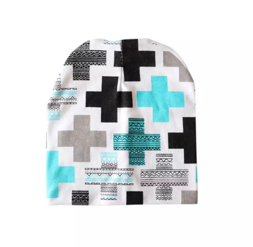 Весенняя шапка 579 Плюсики