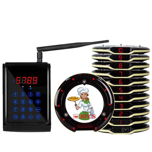 Система электронной очереди Coaster Pager RECS R-90-10 USA