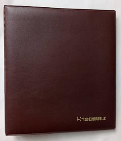 Альбом для монет Schulz 221 осередок Коричневий (eqdtzc)
