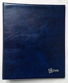Альбом для банкнот Crown Синій (wf6rak)