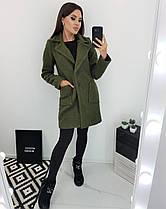 Пальто женское букле новинка осень 2020