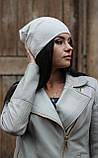Женская ангоровая шапка с блестящей нитью, фото 2