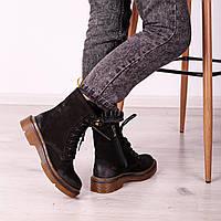 Ботинки с эффектом потертости