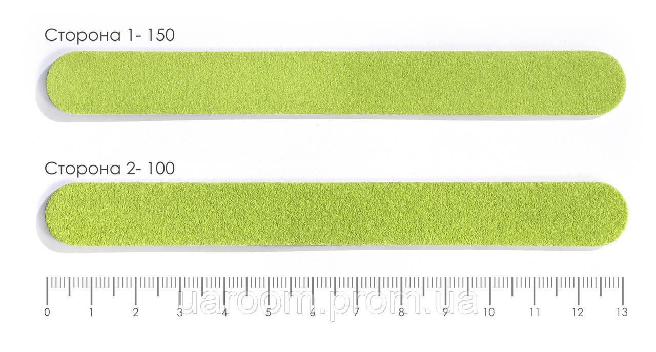 Пилочка для ногтей одноразовая 100/150 13 см