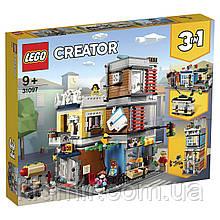Конструктор Lego Creator 31097 Зоомагазин и кафе в центре города