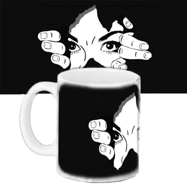 Чашка Moderika белая с рисунком Девушка (33296)