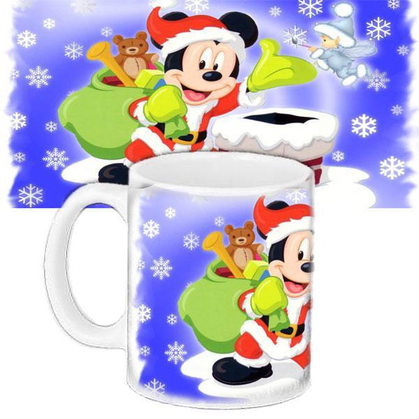 Чашка Moderika белая с рисунком Мики Маус (33366)