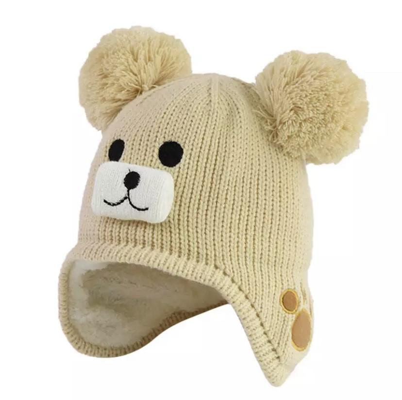 Зимова шапка 1037 Бежева