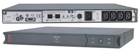 ИБП APC Smart-UPS SC 450VA Rack/ Tower (SC450RMI1U)