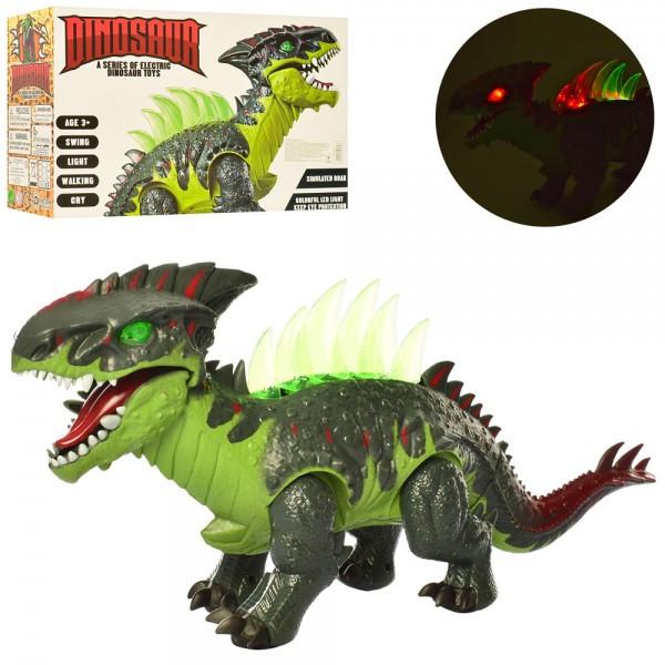 Динозавр 39см, звук, свет, ходит,подвиж.детали