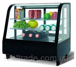Витрина холодильная настольная Frosty FW-100 черная