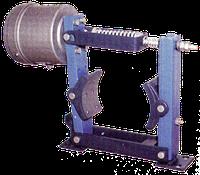 Тормоз колодочный серии ТКП-100 с электромагнитом МП-101