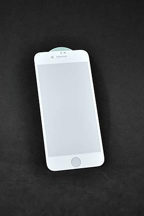 Защитное стекло iPhone 7+ /8+ 3D/6D White (тех.пак.), фото 2