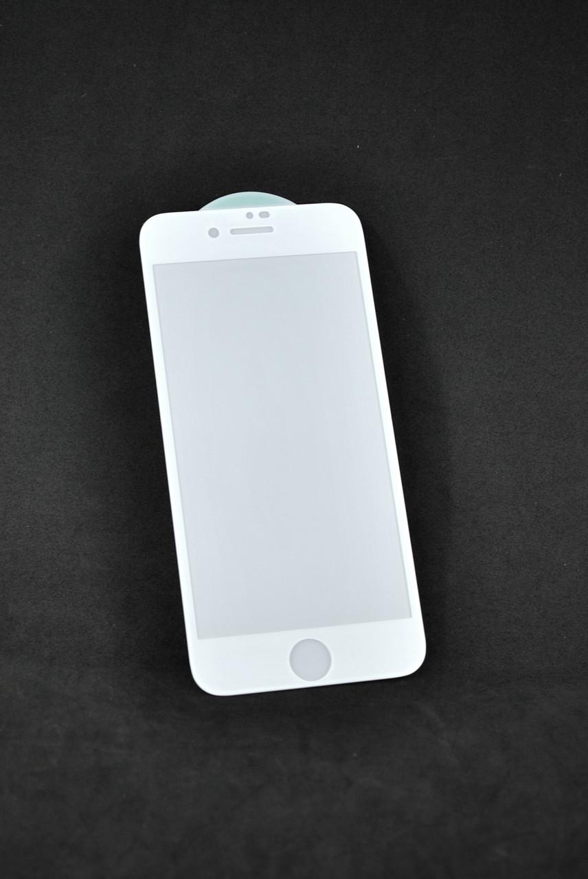 Защитное стекло iPhone 7+ /8+ 3D/6D White (тех.пак.)