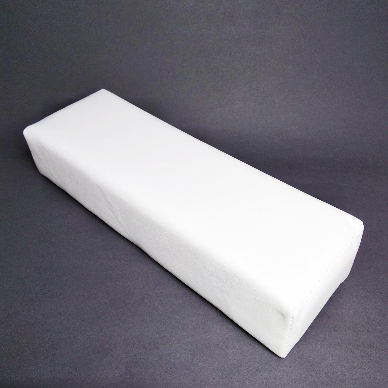 Подлокотник для маникюра, белый