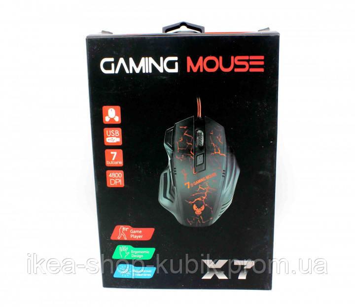 Комп'ютерна миша Gaming X7 Чорна