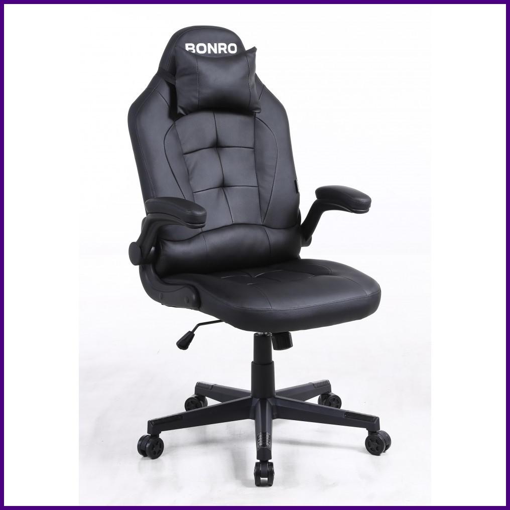 Кресло Офисное Компьютерное BONRO - Office 1 Black