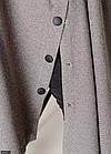 Трикотажний Кардиган сірий великого розміру Осінь Україна 48-56 86607-1, фото 5