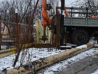 Бурение под опоры - Бурение ям под бетонные столбы